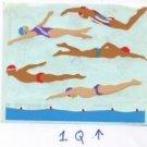 Mrs Grossman's Swimmers Stickers #1Q Purple/Red