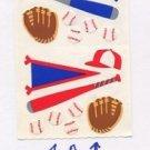 Mrs Grossman's Baseball Stickers #1A Blue/Red
