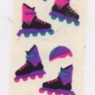 Mrs Grossman's Inline Skates Stickers #1I Green/Purple