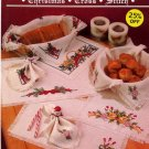 Holiday Table Linens Cross Stitch Janlynn Leaflet #900-26