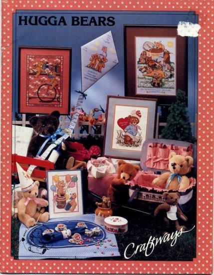 Hugga Bears Cross Stitch Patterns by Craftways