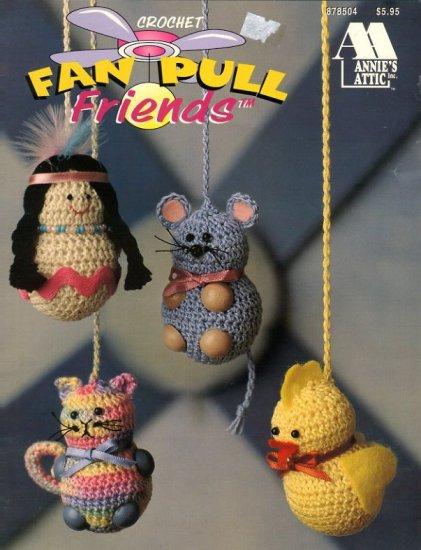 Crochet Fan Pull Friends Annie S Attic Pattern 878504