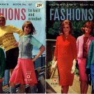 Coats & Clark's Fashions to Knit and Crochet Book No 157