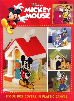 Disney S Mickey Mouse Tissue Box Covers In Plastic Canvas