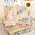 Crocheted Blankets for Baby Patterns Leisure Arts 3527