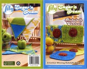 Lily Sugar n Cream 8 Winning Dishcloth Designs Book 570824