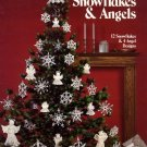 Crochet Snowflakes & Angels Leisure Arts Leaflet 255