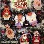 Plastic Canvas Teddy Bear Ornaments Pattern ASN 3078