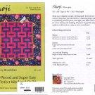 Shoji by Tracey Brookshier - Strip-Pieced Quilt Pattern