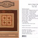 Sheri's Folkart Garden Quilt Pattern - Cotton Way #858