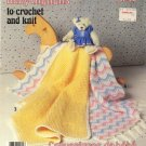 Baby Afghans to Crochet and Knit - Patons booklet 1048