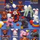 Carefree Creatures to Crochet - Leisure Arts Leaflet 306