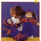 Crochet Cuties - Patons Doll Clothes Patterns Book 1037