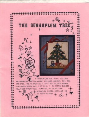 The Sugarplum Tree Quilt Pattern by Christal Carter