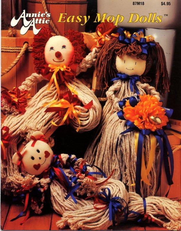 Easy Mop Dolls - Annie's Attic Book 87M18