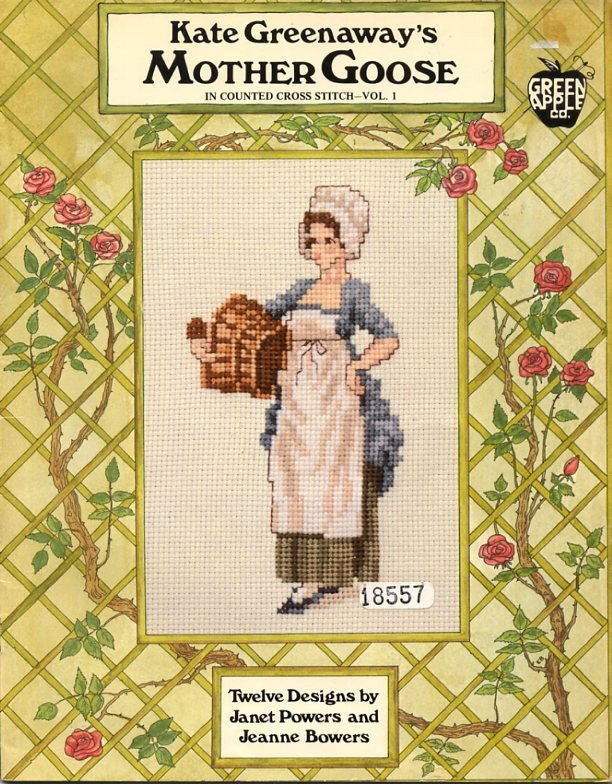 Kate Greenaway's Mother Goose In Counted Cross Stitch Book Vol 1