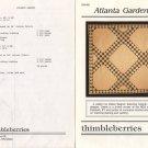 Thimbleberries - Atlanta Gardens Quilt Pattern DW-002