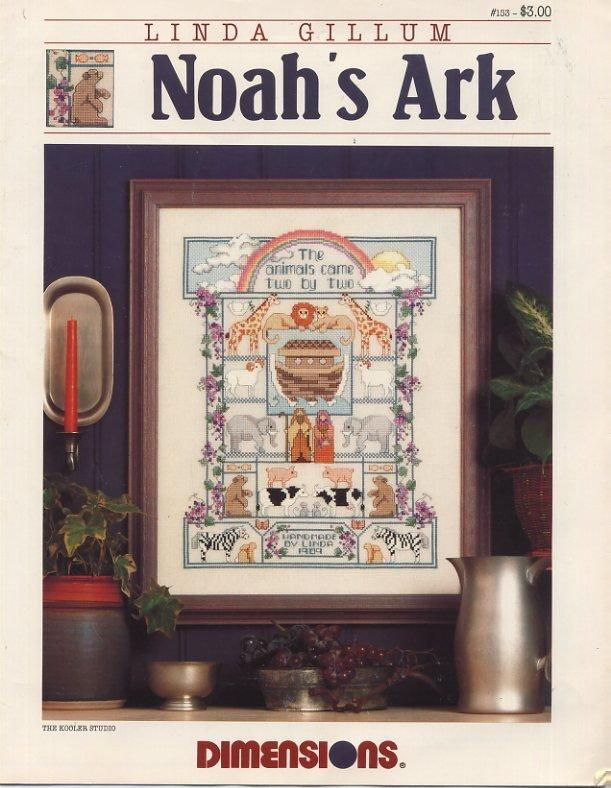 Linda Gillum Noah's Ark Cross Stitch Leaflet 153