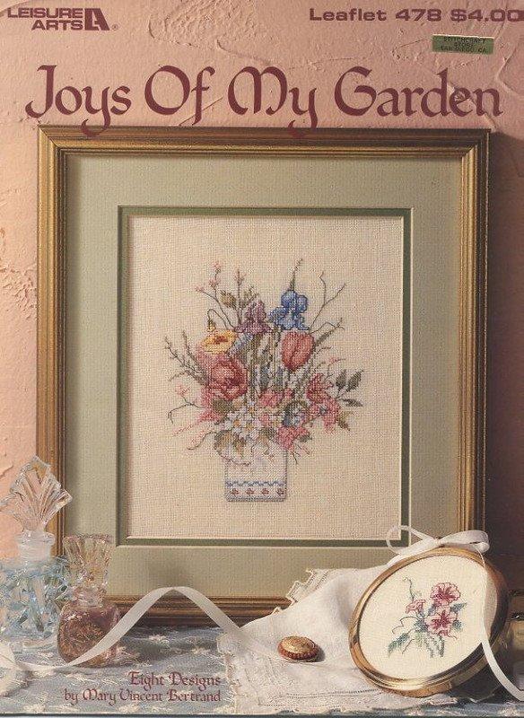 Joys Of My Garden - Cross Stitch Leisure Arts Leaflet 478