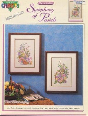 Marion Parker's Symphony of Pastels Cross Stitch Leaflet - Color Charts Volume #01001