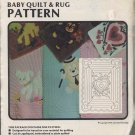 Baby Quilt & Rug Pattern - Heart - Patterns by Jeaneau No 74