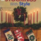 Quilting Stockings With Style Pattern Book - House of White Birches 141232