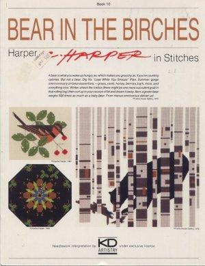 Bear in the Birches - C Harper in Stitches - Cross Stitch Book 10