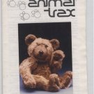 "Animal Trax Pattern - Theodore Jointed Bear - Approx 13"" High"