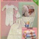 Jamie Layette Crochet Pattern Leaflet