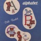 Teddy's Alphabet Cross Stitch Book - Burdett Publications