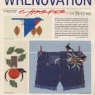Wrenovation - C Harper in Stitches - Cross Stitch Book 8
