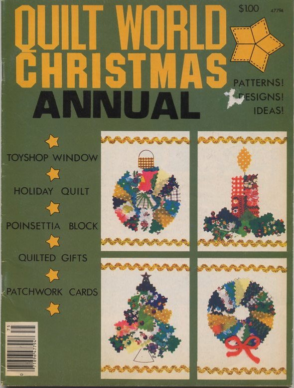 Quilt World Christmas Annual Magazine 1977
