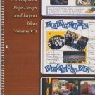 CM Scrapbook Page Design and Layout Ideas Book Volume VII
