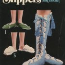 Slippers to Knit and Crochet Leisure Arts Leaflet 70