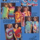 Friendship Shirts Tie & Dye Instruction Book by Design Originals 2042