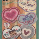 Heart to Heart Rugpoint Rag Rugs Leaflet Book No 021 by Design Originals