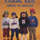Kasual Kids Sweats to Applique Book - Leisure Arts 1193