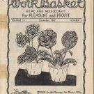 The Workbasket  Magazine Volume 13 Number 3 December 1947