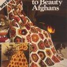 Crocheted Scraps to Beauty Afghans - Leisure Arts Crochet Leaflet 163