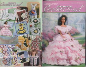 Annie's Crochet To Go! April/May 2000 Number 122 Magazine