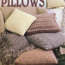 Classic Knit Pillows Pattern Book Leisure Arts 3180