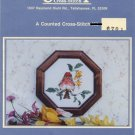 County Cross-Stitch Purple Finch Pattern only from kit 6701