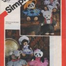 Simplicity 6143 Wardrobe for the Chic Bears Pattern - Uncut