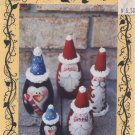 Tracia & Company Roly Poly Santa's & Penguins Painting Pattern