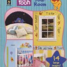 Disney's Winnie the Pooh Paint Your Room Project Book HOTP 2224