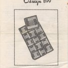Design 899 Crocheted Afghan Pattern