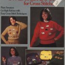 The Sweater Book for Cross Stitchers - Leisure Arts Leaflet 375