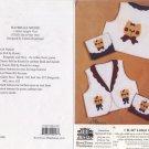 Littlest Angels Vest H-247 Size 2-4-6 Hickory Stick & Co.