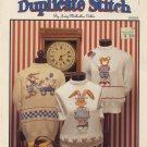 Beary Good Friends Duplicate Stitch Patterns - Hollie Designs HDDS4