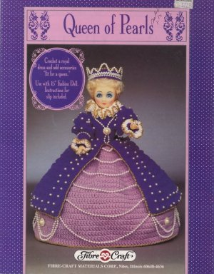 Queen of Pearls - Crochet Doll Book FCM245